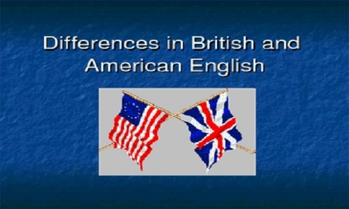 Differences in British and American English Paper